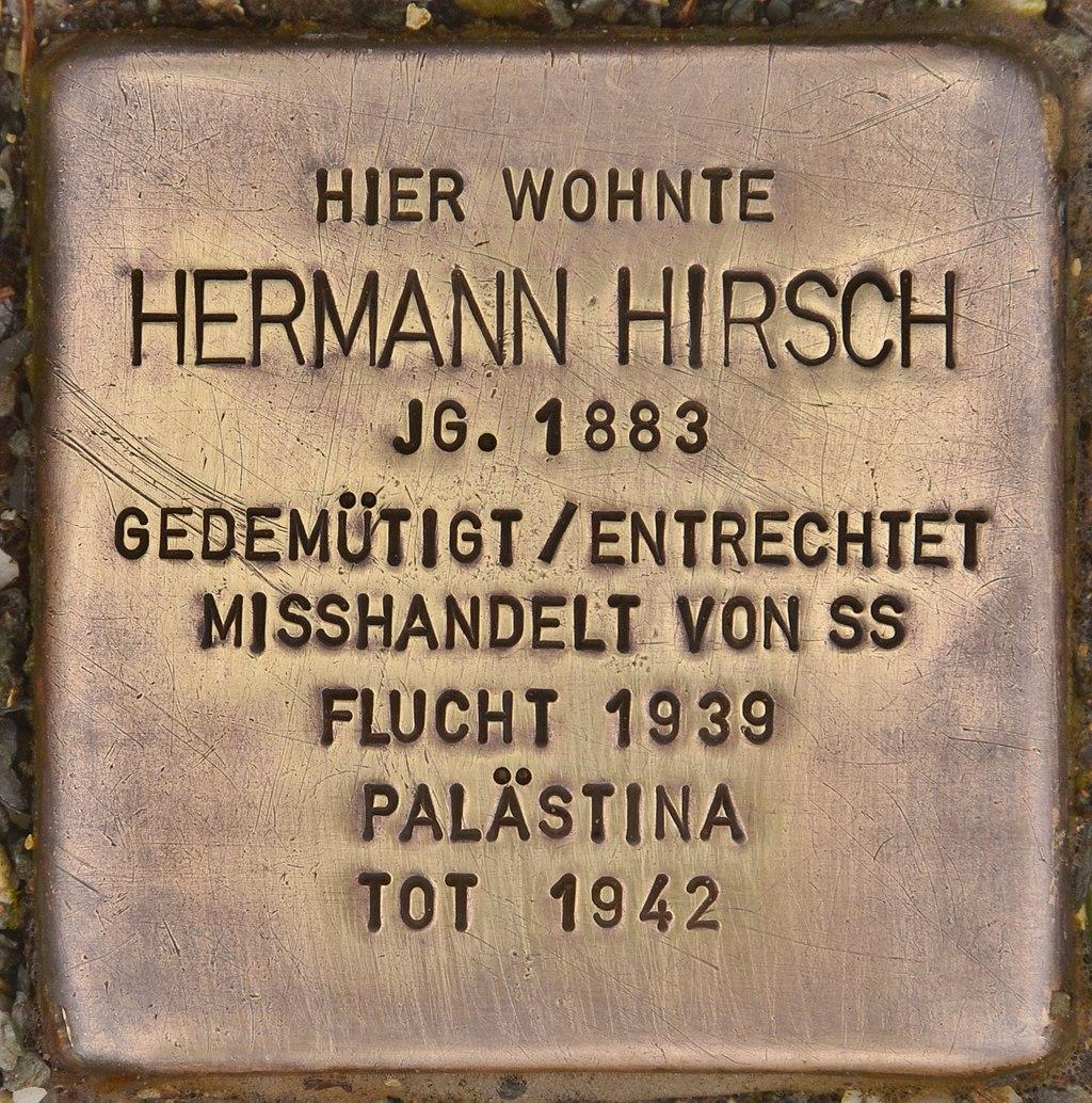 Stolperstein für Hermann Hirsch (Coburg).jpg