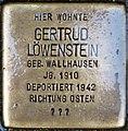 Stolpersteine Höxter, Gertrud Löwenstein (Westerbachstraße 5).jpg