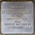 Stolpersteine Köln, Manfred Eckstein (Im Weichserhof 8).jpg