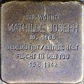 Stolpersteine Köln, Mathilde Joseph (Schildergasse 59).jpg