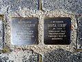 Stolpersteins Abraham Rolef, Berta Rolef, Germanenstraße 26, Bornheim.jpg