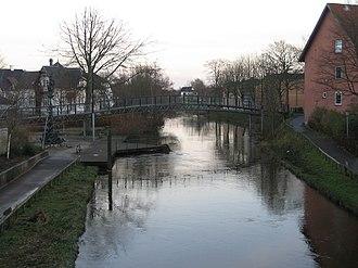 Storå, Denmark - Storåen runs through Holstebro.