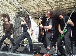 Gli Stormlord al Gods of metal 2004