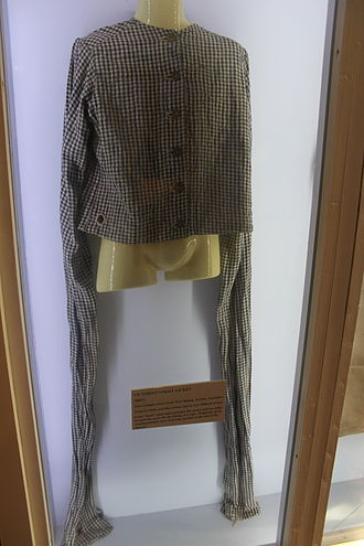 Straitjacket - Victorian straitjacket on display at Glenside Museum