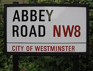 Abbey Road, London - Abbey Road street sign