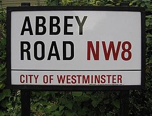 Abbey Road, London - Abbey Road street sign