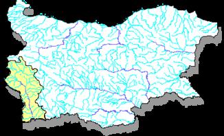 Goiter in Bulgaria - water catchment area - bottom left