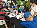 Students participate in festival activities at BioBlitz 2015. NPS Photo. (17244443414).jpg