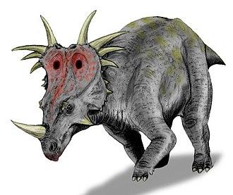 Styracosaurus - Restoration