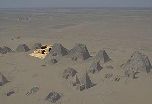 Amanishakheto - Image: Sudan Meroe Pyramids 2001 N06