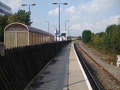 Sudbury & Harrow Road stn eastbound look west.JPG