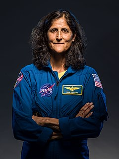 Sunita Williams The indo-American astronaut and United States Navy officer