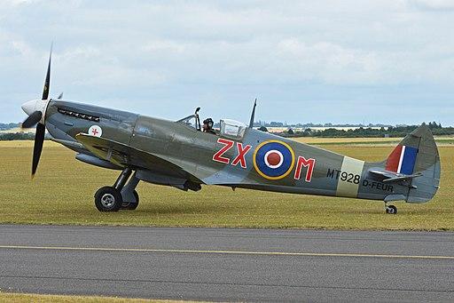 Supermarine Spitfire VIIIc 'MT928 - ZX-M' (D-FEUR) (19331012584)