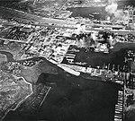 Surabaya, Netherlands East Indies, under attack, 17 May 1944 (NNAM.1996.488.024.025).jpg