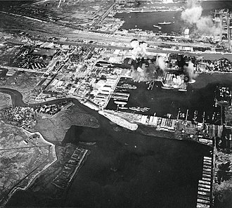 East Java - Operation Transom, destroyed Tanjung Perak in 1944.