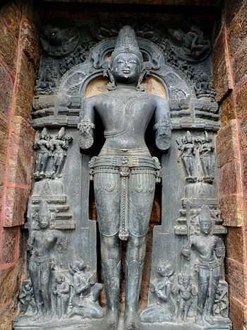 Surya or the Sun God, Konark.