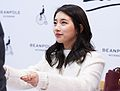 Suzy at a fan meeting for Bean Pole, 7 December 2014 08.jpg