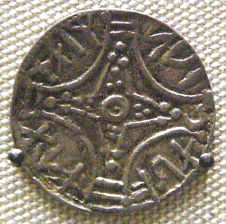 Sweyn II of Denmark - Coin of Sven Estridson. British Museum.