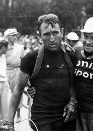 1939 Tour de France - Sylvère Maes (pictured at the Tour 1936), winner of the general classification