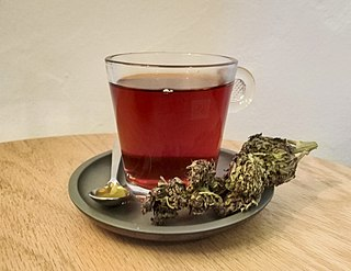 Cannabis tea Cannabis-infused drink