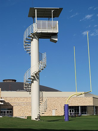 TCU Horned Frogs football - Sam Baugh Indoor Practice Facility, Practice Field