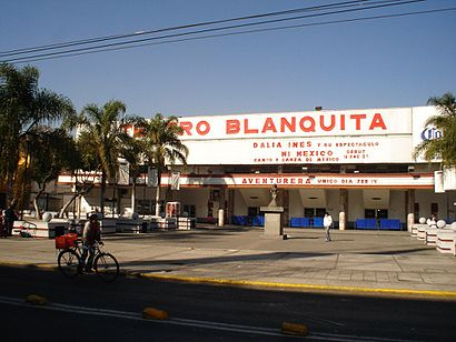 How to get to Teatro Blanquita with public transit - About the place