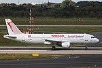 TS-IMM Airbus A320-200 Tunisair DUS 2018-09-01 (2a) (30642492238).jpg