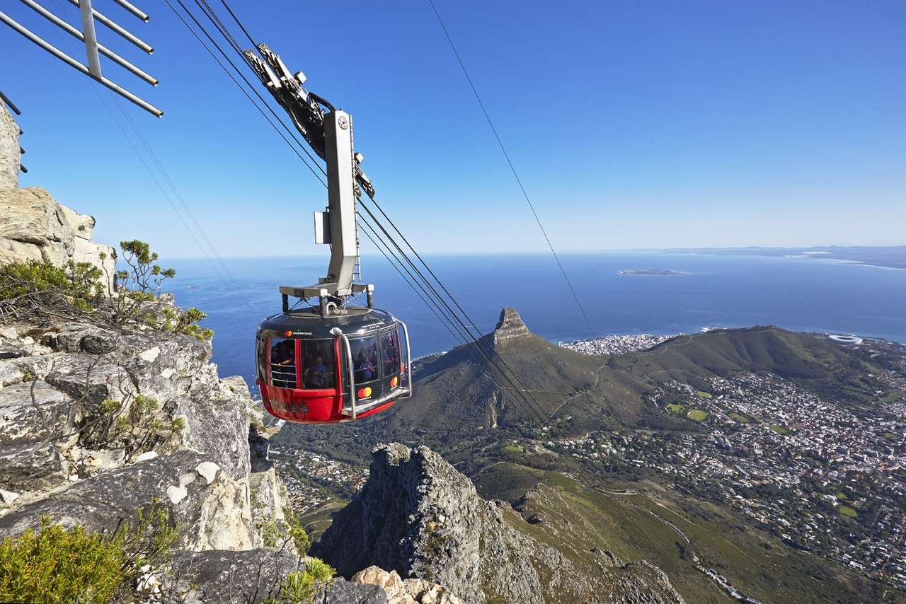 Table Mountain Ariel Cableway - Things to do in Cape Town for kids