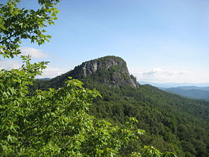 Burke County, North Carolina - Table Rock