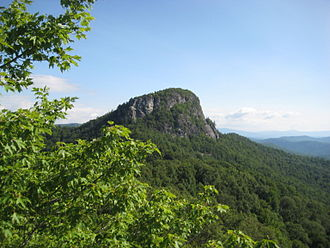 Burke County, North Carolina - Table Rock