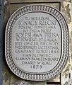 Tablica Ignacy Rzecki ul. Krakowskie Przedmieście 7.jpg