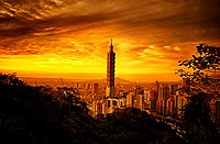 Taipei skyline at dusk.jpg