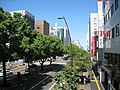 Takamatsu Chuo-dori in Konya-machi view north.jpg
