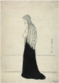 TakehisaYumeji-1915-A Woman Going into a Convent.png