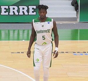 Talib Zanna - Zanna playing for Nanterre, 2017