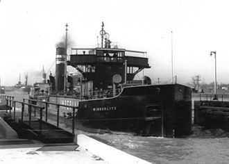 R. Murray Schafer - Image: Tanker Windsolite in the Welland Canal, 1938 04 01 a