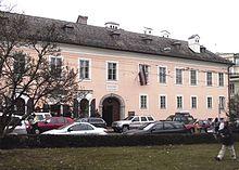 Tanzmeisterhaus, Wohnhaus der Familie Mozart ab 1773 (Rekonstruktion ca. 1995) (Quelle: Wikimedia)