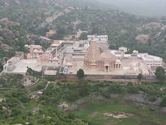 Gujarat - Taranga Jain Temple constructed by Kumarapala (1143–1172 CE)