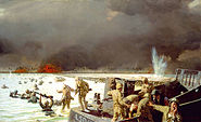 Tarawa, South Pacific, 1943 by Sergeant Tom Lovell