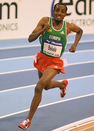 Cross Internacional Valle de Llodio - Ethiopian Tariku Bekele has won the race three times – more than any other athlete