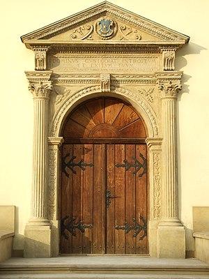 Tarnów City hall historic doors