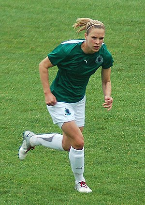 Lindsay Tarpley - Tarpley with the St.Louis Athletica in 2010.