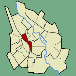 Location of Vaksali in Tartu.