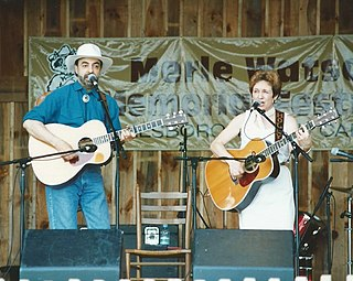 Barry and Holly Tashian American country, folk and bluegrass duo