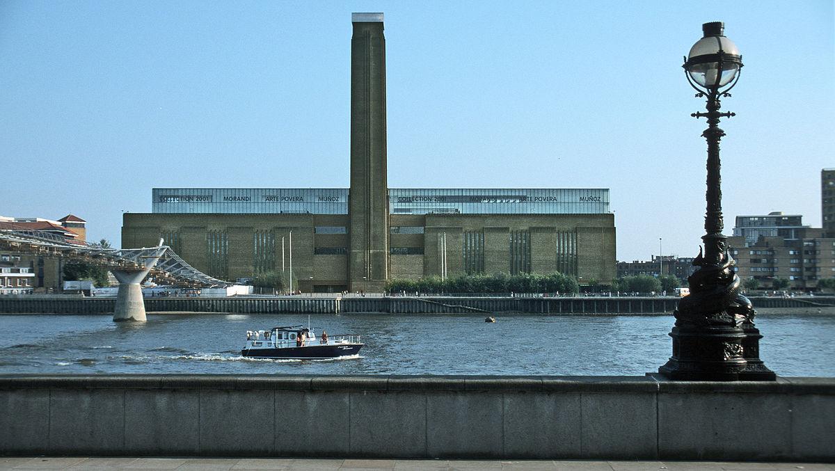Tate modern wikip dia a enciclop dia livre for Tate gallery di londra