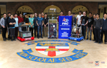 Sir Winston Churchill FRC Team 4719 Team Photo 2015