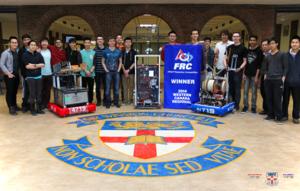 Sir Winston Churchill High School - SWC FRC Team 4719 Team Photo (2015)