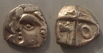 Volcae - Tectosages coins, Southern France, 5th-1st century BC.