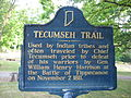 Tecumseh Trail historical marker.jpg