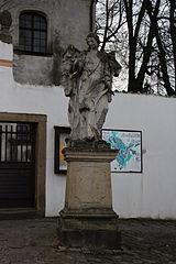 socha Archanděla Gabriela